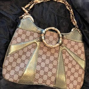Amazing LIMITED EDITION GUCCI  Bamboo Shoulder Bag